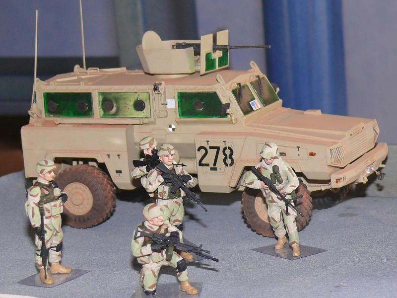 RG 31 MK3 US ARMY MINE-PROTECTED ARMORED PERSONNEL CARRIER de Kinétic au 1/35 ème Photo731