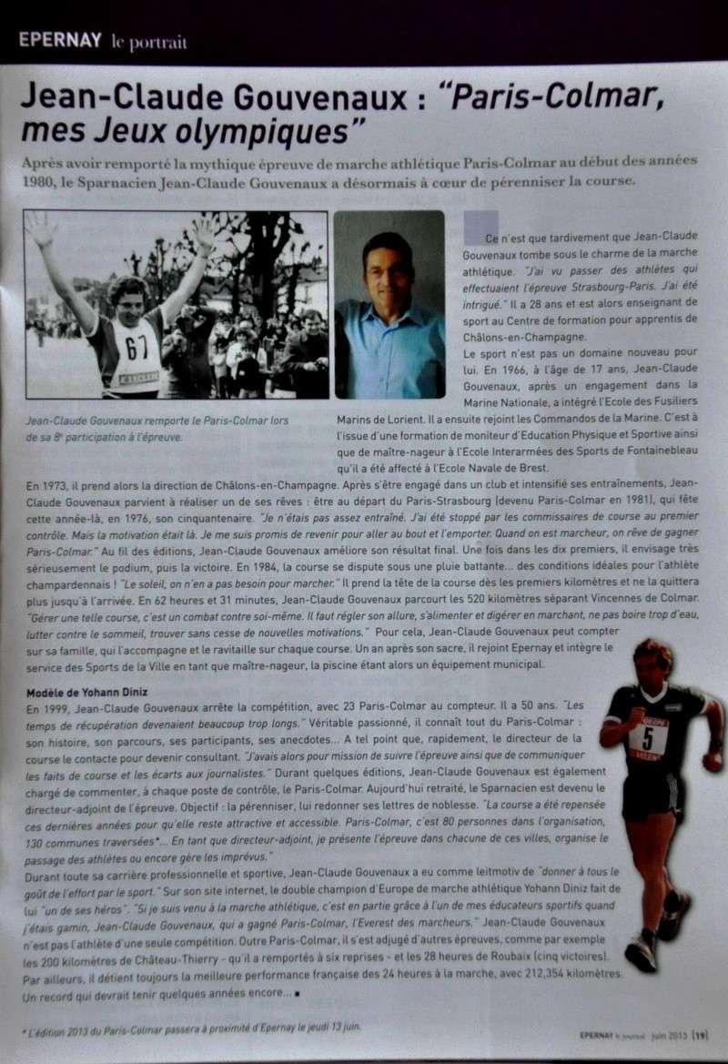 """Jean-Claude Gouvenaux : """"Paris-Colmar, mes Jeux Olympiques"""" Dsc_2311"""