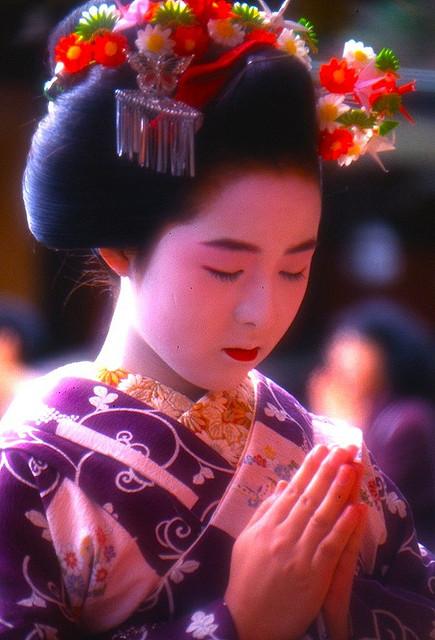 Tracking down maiko/geisha who wore your hikizuri! Maikop10