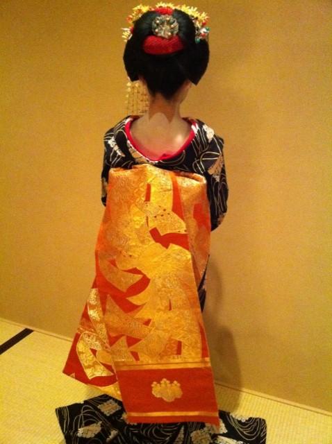 Tracking down maiko/geisha who wore your hikizuri! Umesay10