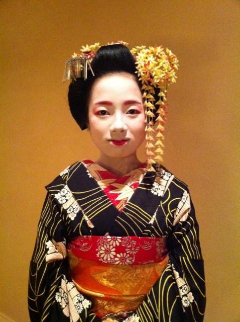 Tracking down maiko/geisha who wore your hikizuri! Umesay11