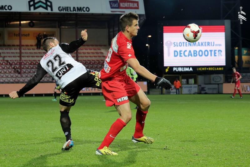 KV Kortrijk - RCSC 1-1 240110