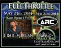 2014 Full Throttle Event @ Trails End featuring Craig Morgan Americ10