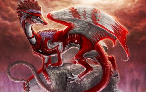 Ослепительный Красный Дракон S3085810