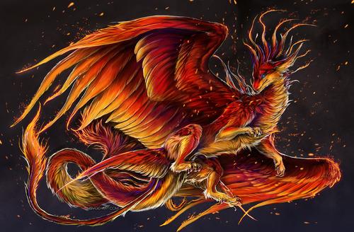 Ослепительный Красный Дракон S8859610
