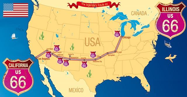 Bästa tipsen för bilturen i USA Rout110