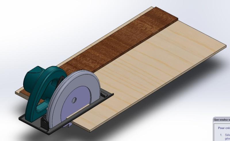 Aide technique pour la réalisation d'une coupe non droite Rail_a10