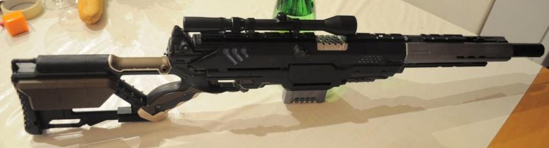 La Forge de Nico - Réaltion d'un fusil Blaster longue portée Dsc_1810