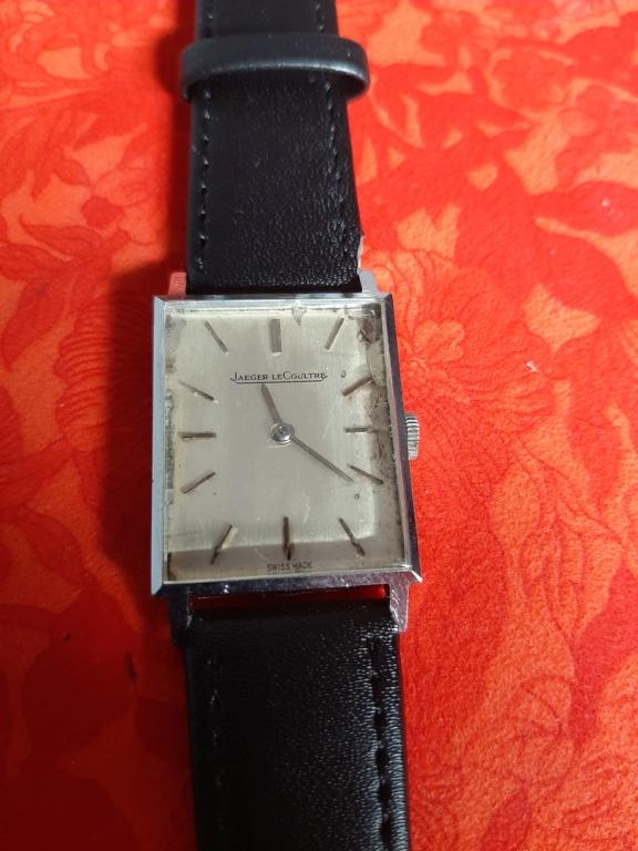 lecoultre - [Vends] montre carré Jaeger LeCoultre 690 euros 20200514