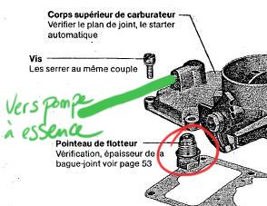 Branchement pompe a essence ! - Page 2 Solex110