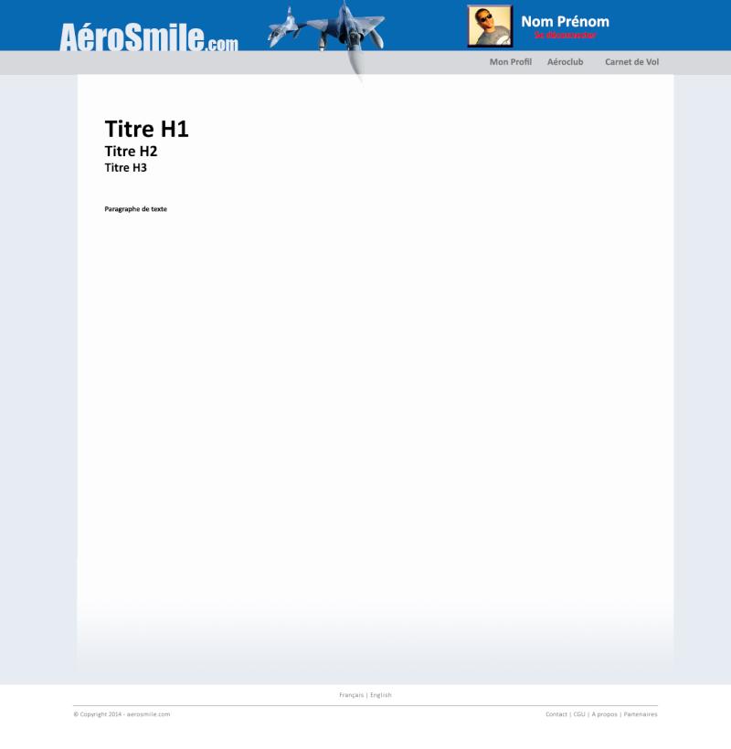 [Site Web] Nouveau site web pour les pilotes Aerosm10