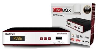 cinebox - Nova Atualização Cinebox Optimo HD 25/02/2014. Recept12