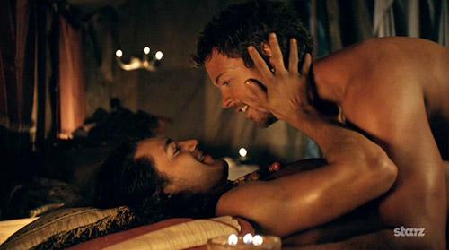 """Record corta cenas de sangue e sexo e transforma série """"Spartacus"""" em série bíblica Sparta10"""