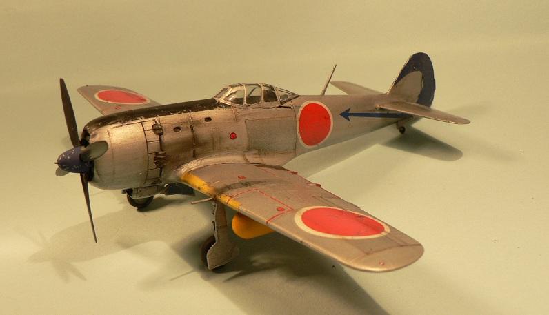 """[Hasegawa] Nakajima Ki-84 Ayate ( """"Frank"""") 1-110"""