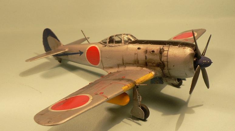 """[Hasegawa] Nakajima Ki-84 Ayate ( """"Frank"""") 1-210"""