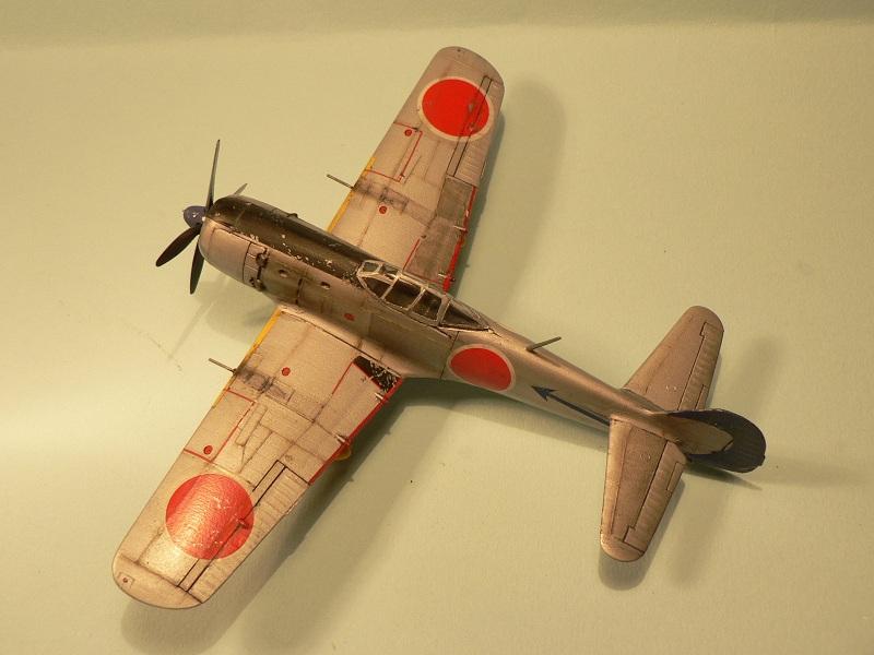 """[Hasegawa] Nakajima Ki-84 Ayate ( """"Frank"""") 1-510"""