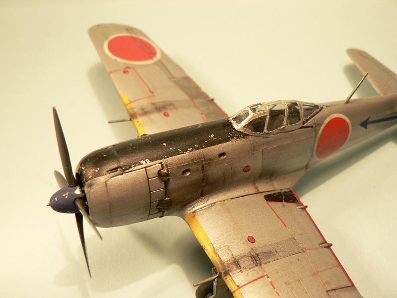 """[Hasegawa] Nakajima Ki-84 Ayate ( """"Frank"""") 1-610"""