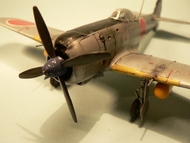 """[Hasegawa] Nakajima Ki-84 Ayate ( """"Frank"""") 1-710"""