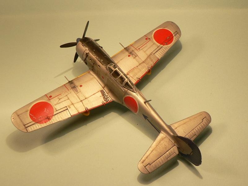 """[Hasegawa] Nakajima Ki-84 Ayate ( """"Frank"""") 1-810"""