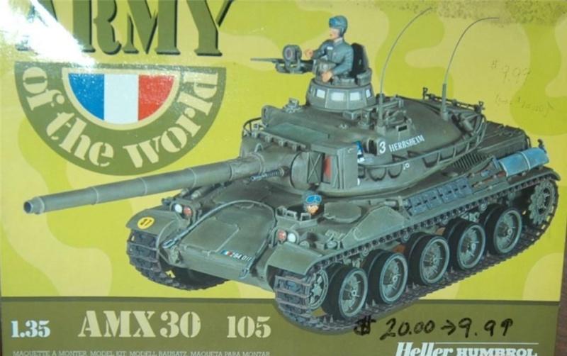 [HELLER] AMX30 B2 Division Daguet 1/35 [HELLER + Azimut] 30-10510