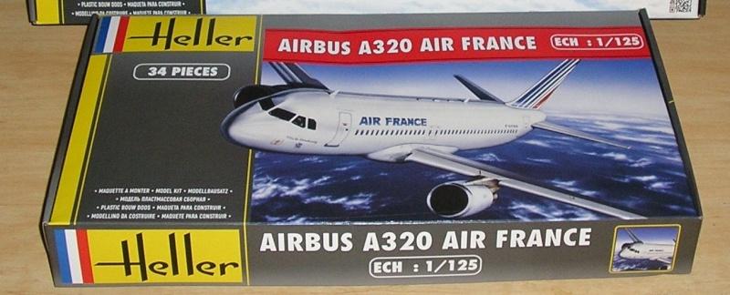 AIRBUS A 320-211 Cie AIR FANCE 1/125ème Réf 80448 P1010039