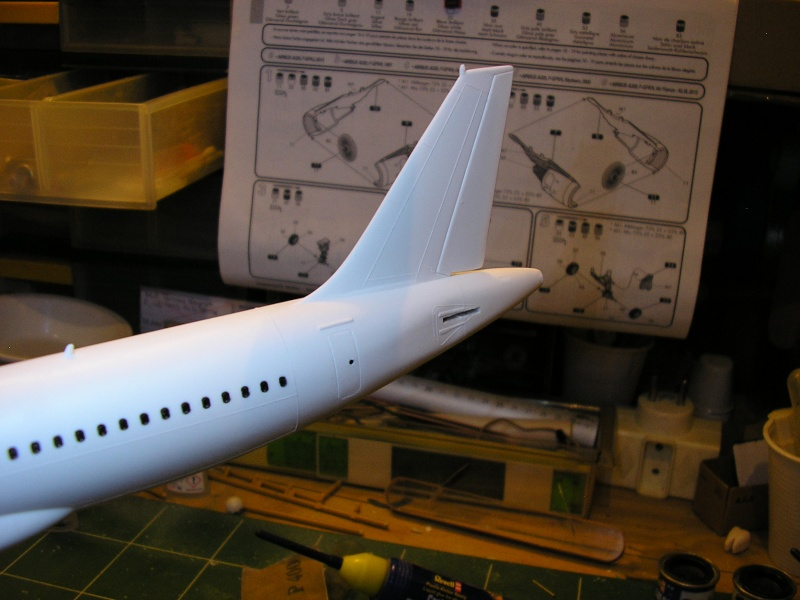 AIRBUS A 320-211 Cie AIR FANCE 1/125ème Réf 80448 P1010048