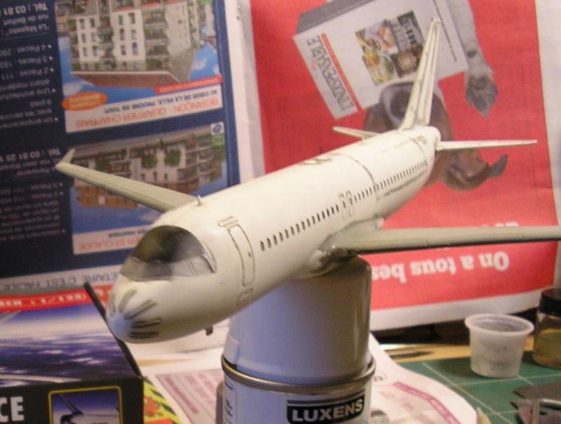 AIRBUS A 320-211 Cie AIR FANCE 1/125ème Réf 80448 P1010067