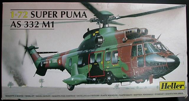 [Heller] - AS 332 SUPER PUMA Centre Europe - Rèf 80??? Super_10