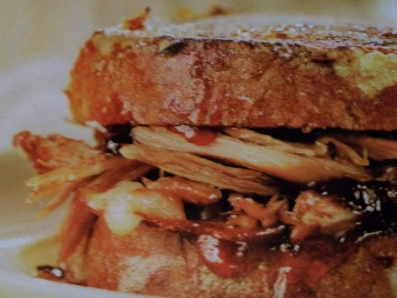 Sandwichs canard et bacon de style Monte Cristo 100_5819