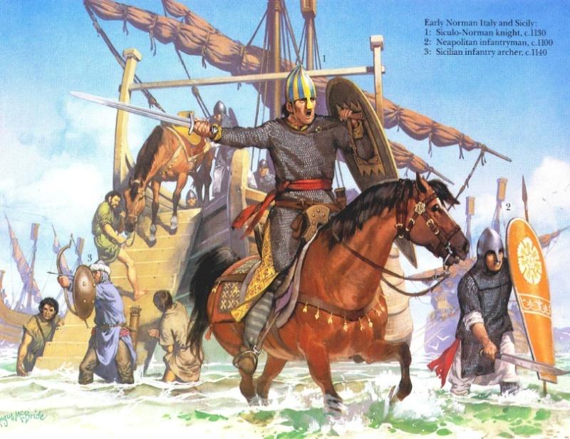 Normand de Sicile  D10