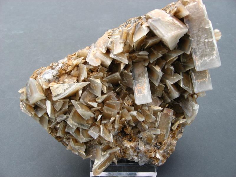 Différentes BARITES  de la mine CLARA 00820
