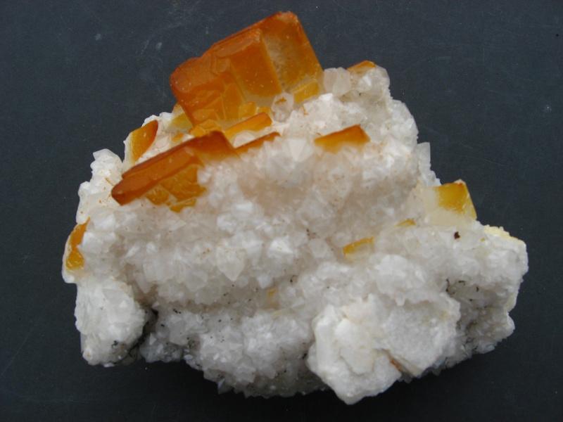Différentes BARITES  de la mine CLARA 01914