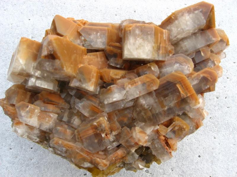 Différentes BARITES  de la mine CLARA 02712