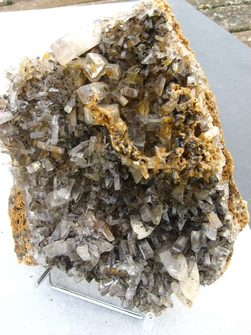 Différentes BARITES  de la mine CLARA 02911