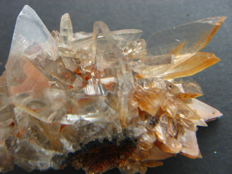 Différentes BARITES  de la mine CLARA 04310