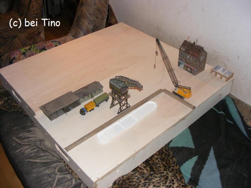 6m² NVA Kasernen Diorama Indust30