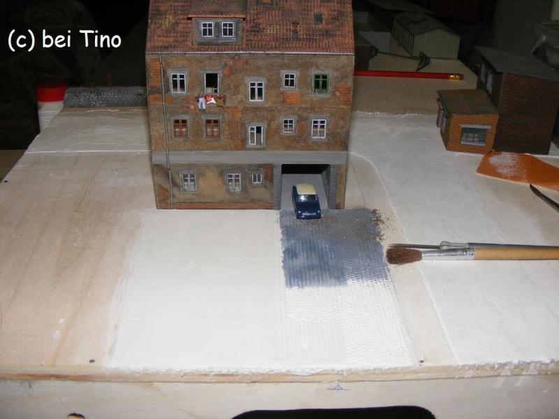 6m² NVA Kasernen Diorama Indust38