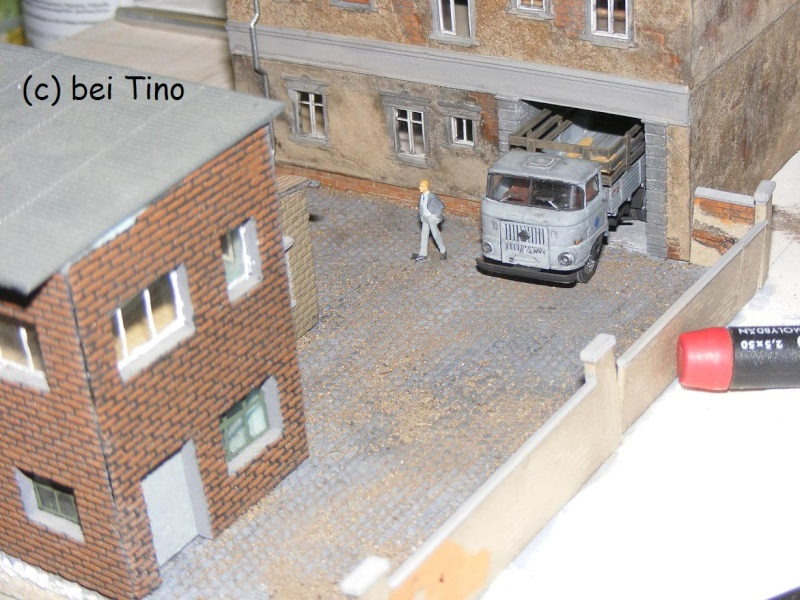 6m² NVA Kasernen Diorama Indust39
