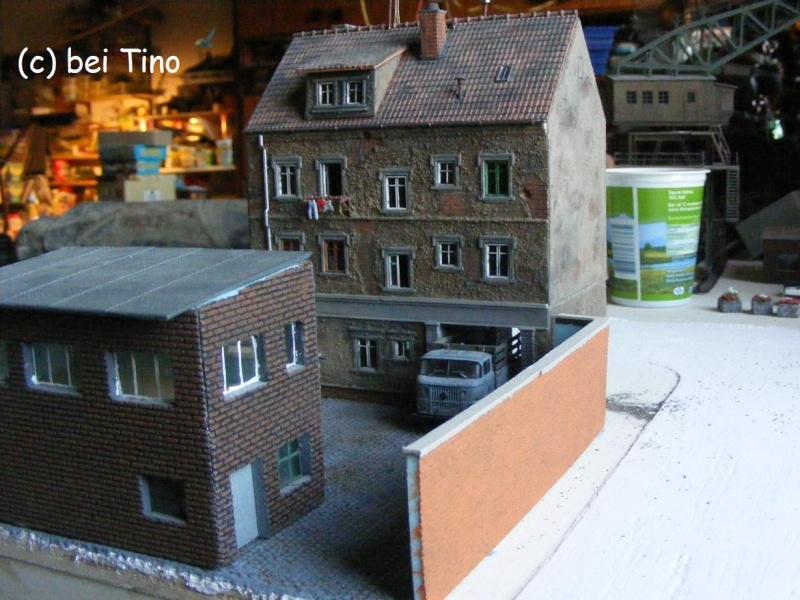 6m² NVA Kasernen Diorama Indust43