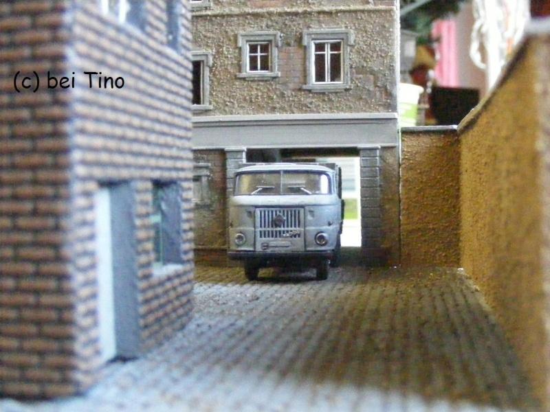 6m² NVA Kasernen Diorama Indust45