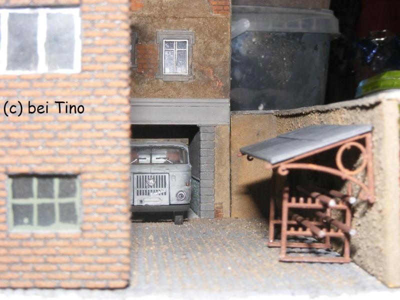 6m² NVA Kasernen Diorama Indust48