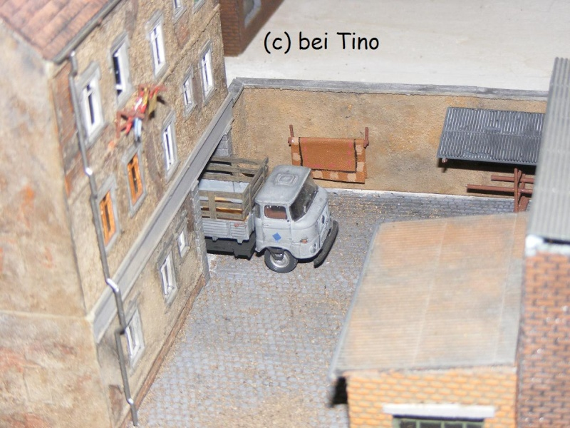 6m² NVA Kasernen Diorama Indust49