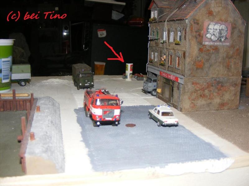 6m² NVA Kasernen Diorama Indust90