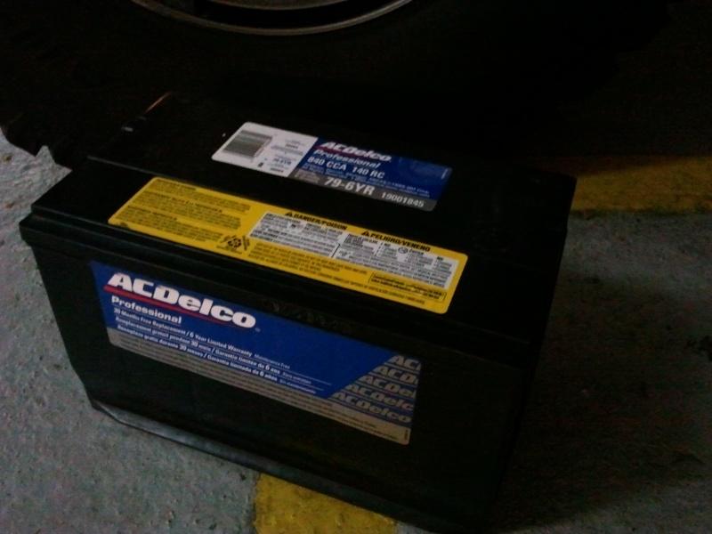 Batterie Hummer H2 2012-110