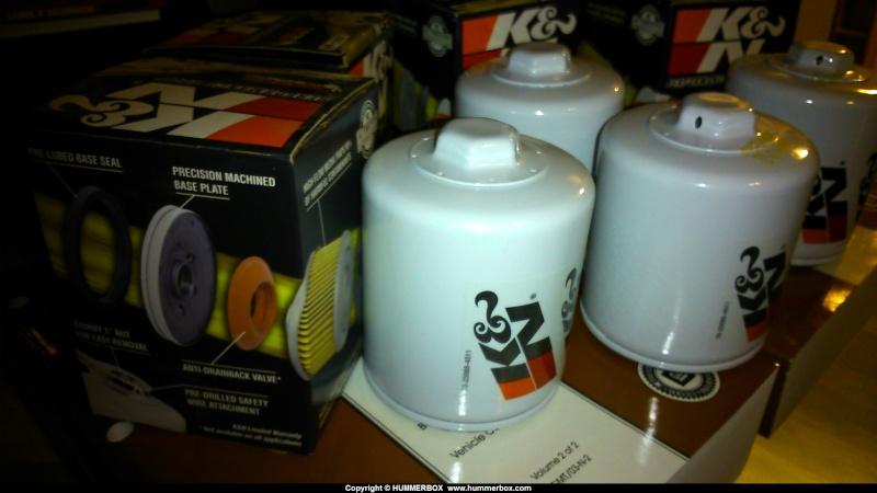 Filtre à Huile K&N Hummer H2 Dsc_0022