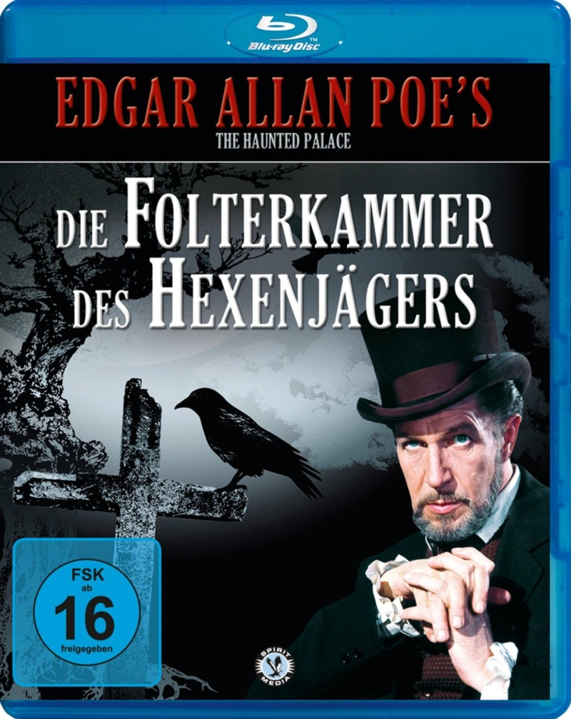 """Die Folterkammerkammer des Hexenjägers"" ( The Haunted  Palace, USA, 1963 ) 81lns210"