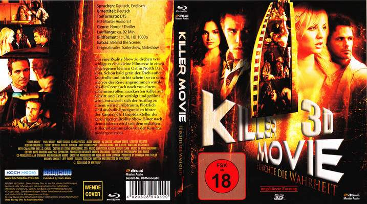 """""""Killer Movie 3 D - Fürchte die Wahrheit"""" ( Killer Movie, USA, 2010 ) Killer13"""