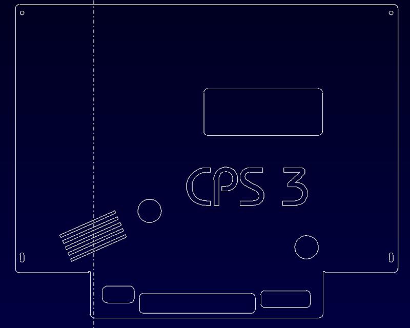 [WIP] Coque pour CPS3 De10