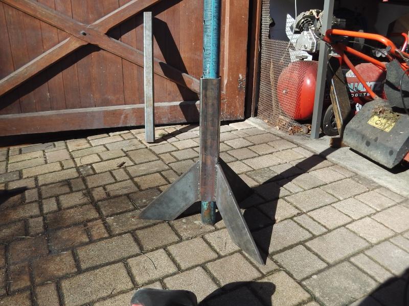 fabrication chandelles pour Unimog 00915
