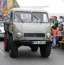 Unimog 401 Westfalia 1955 - RENOVATION U401110